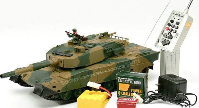 b72aef08211c 1 24 Japanese Defence Force Type 90 Radio Remote Control Airsoft Battle  Tank