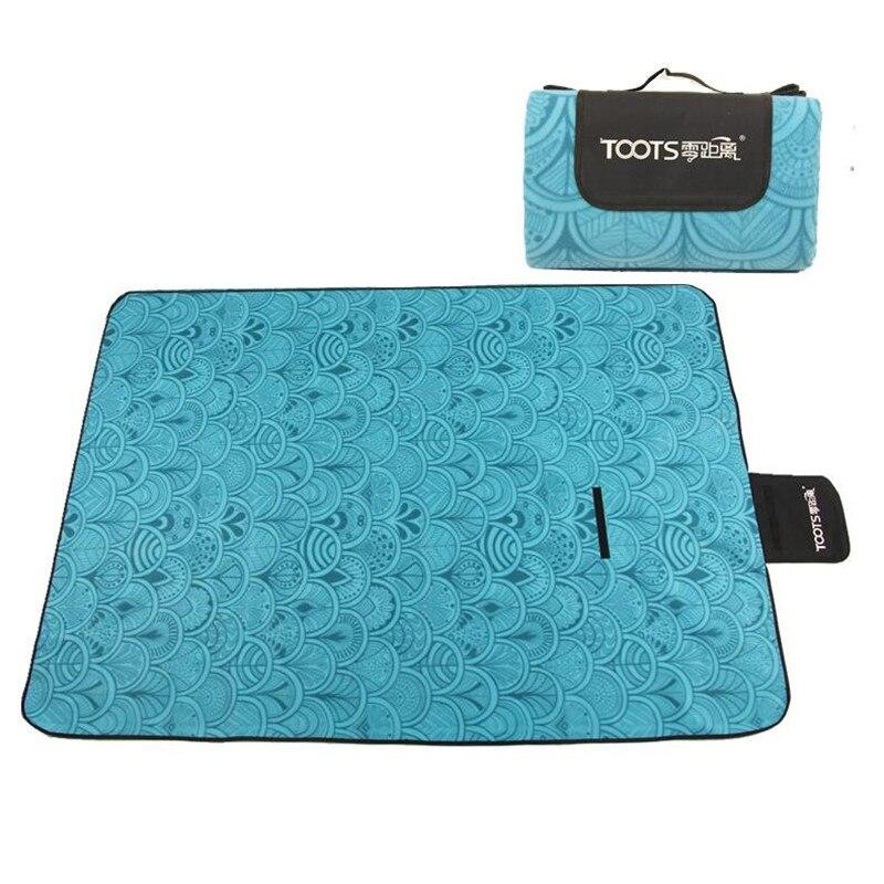 Outdoor Waterproof Camping Mat Picnic Beach <font><b>Baby</b></font> Climb Plaid Blanket Pad Tapete Intex Tent Sleeping Bed Yoga 200cm*200cm CM-01