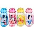 Respetuoso del medio ambiente PP Kid Bickiepegs tazas de bebé bebé botella Botella de Paja de los niños Los Niños de dibujos animados botella de 400 ml