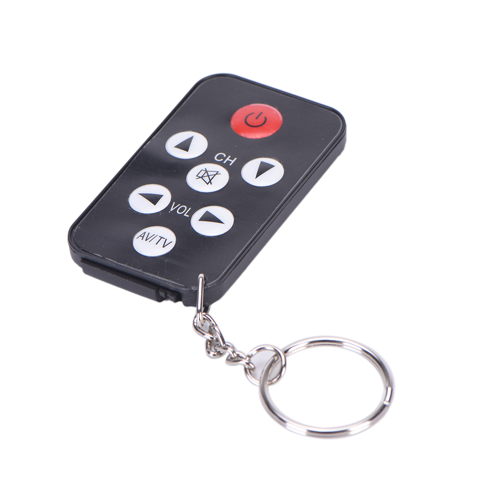 New 1pc TV Mini Keychain with battery Universal Remote Control for Philips for Sony for Panasonic for Toshiba new for panasonic tv remote pan 918 for n2qayb000485 n2qayb000100 n2qayb000221