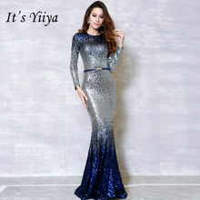 ... Zipper Empire Party Dresses Elegant Jumpsuit Formal Pant Suit Evening  Dress Pants NX002. It s YiiYa Fashion Long Sleeve Panelled Bling Dinner  Party ... 1068583fe38b