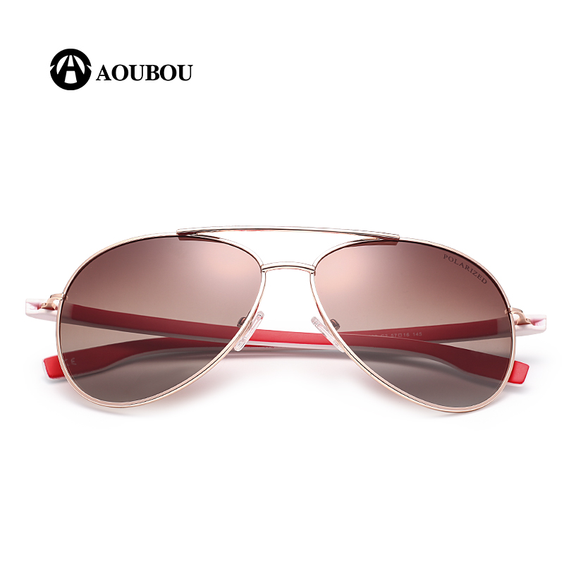 AOUBOU Design Design Hot Sale Polarized Pilot Sunglasses Men UV400 - Αξεσουάρ ένδυσης