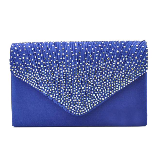 womens-silk-face-diamond-clutches-shoulder-bag-evening-bridal-prom-satchel-chain-handbag-sapphire-blue