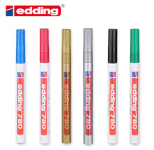 Germany Edding 780 Needle Paint Pen High Temperature Resistant Medical Alcohol Marker No Fade Marker 1PCS(China)