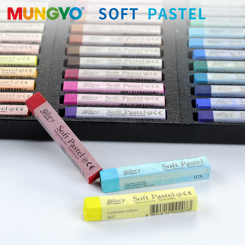 Mungyo 36/48 Colors Master Soft Pastel Dry High Quality Colored Chalk Drawing Coloring Dye Hair Painting Crayon Art Supplies Diy