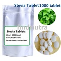 Free shipping 1000pcs/bag 0 calorie stevia sugar Natural Fat free keep slim Stevia extract sweeteners
