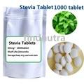 O envio gratuito de 1000 pçs/saco 0 caloria stevia açúcar stevia adoçantes Naturais livre de Gordura manter magro