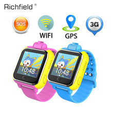 Купить с кэшбэком Wifi 3G Smart Watch Q730 Children GPRS GPS Tracker Locator kids Smartwatch child SOS baby Touch Watch Camera for IOS Android