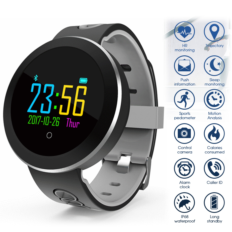 цены Bluetooth Smart Watch Women Men Sport Wristwatch Calorie Pedometer Fitness Watches For Android IOS Phone Tracker Sport Watch New