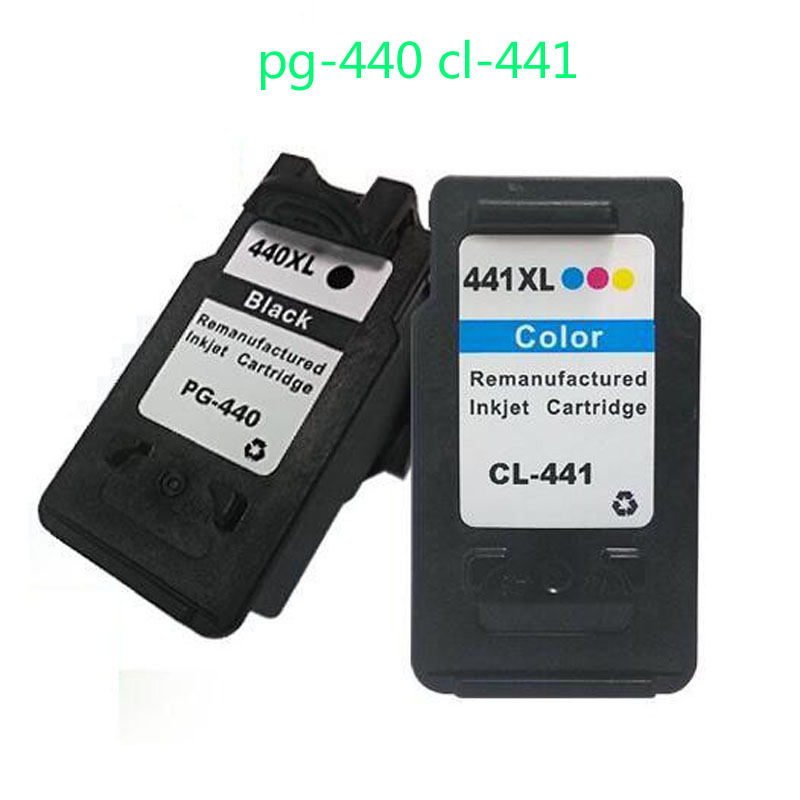 2pk For Canon PG-440 CL-441 Ink Cartridge For Canon pixma mg2180 mg3180 mg4180 mg4280 mx378 mx438 mx518 mx528 mx398 mx458