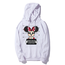 E-BAIHUI cartoon mouse print hoodie men tops hip hop casual funny dog hoody homme fitness cotton Hooded WT01