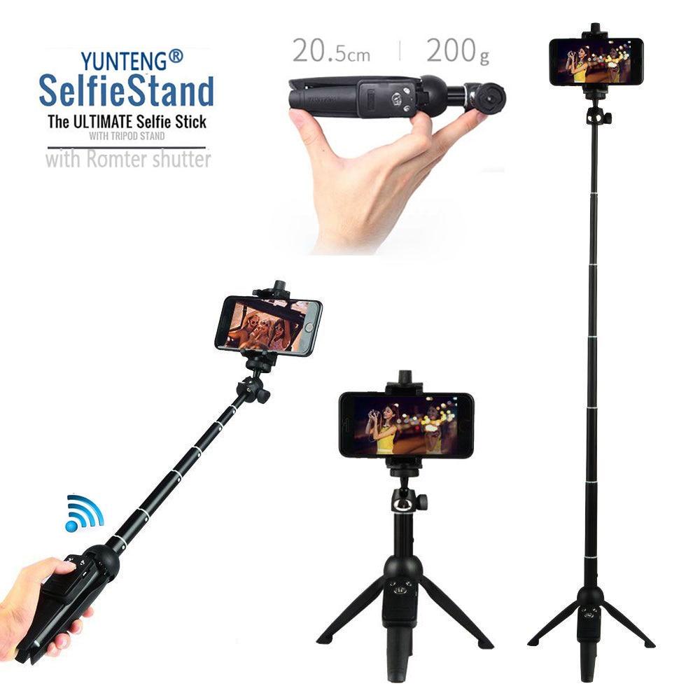 Einbeinstative Foto Bluetooth-Kamera Remote Shutter Selfie + Stativ - Handy-Zubehör und Ersatzteile - Foto 4