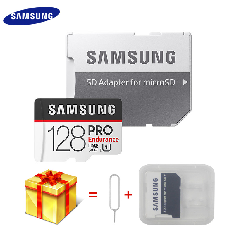 Original <font><b>SAMSUNG</b></font> <font><b>Micro</b></font> <font><b>SD</b></font> Card <font><b>PRO</b></font> Endurance Memory Card SDHC 32GB 64GB 128GB SDXC Class 10 U1 High Speed UHS-I Microsd TF Card image