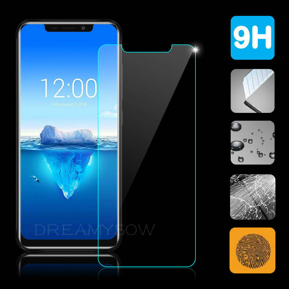 9H Tempered Glass For Oukitel K9 K8 K6 K3 Protective Film Screen Protector For Oukitel C11 C12 Pro U25Pro U23 U15 Tempered Glass(China)