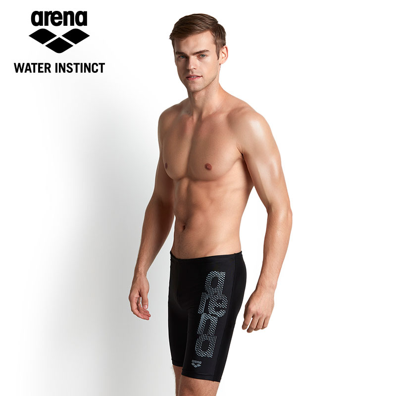 89636d7e19 Aliexpress.com : Buy Arena 2018 New Mens Swimming Trunks Professional Anti  chlorine Knee length swim trunks Swim Wear from Reliable wear suppliers on  ...