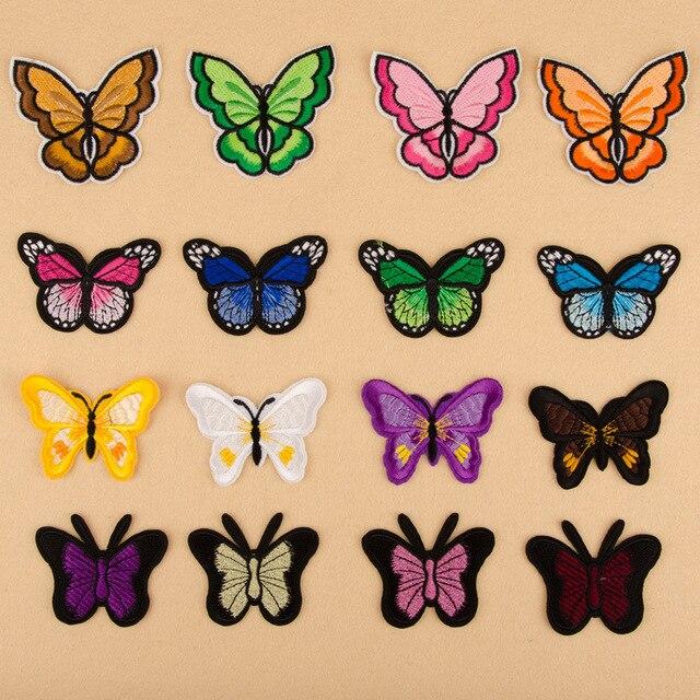 Schmetterling tuch patch kleidung stickapplikationen dekorative ...