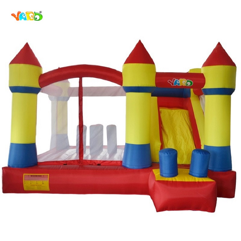Yard Best quality bouncy castle bounce house with slide inflatable toys for kids,jumping inflatable toys obstacle course fashion american style room remote control oak electric fan ceiling lamp decorate in cafe restauest study room inn balcony bar
