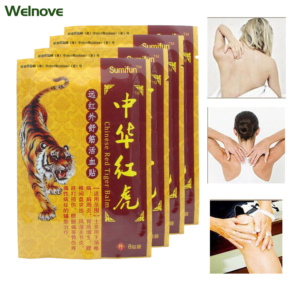 48Pcs Tens Orthopedic Plaster Pain relief patches Tiger Balm Medical Treatment Joint Muscle Back Pain Body