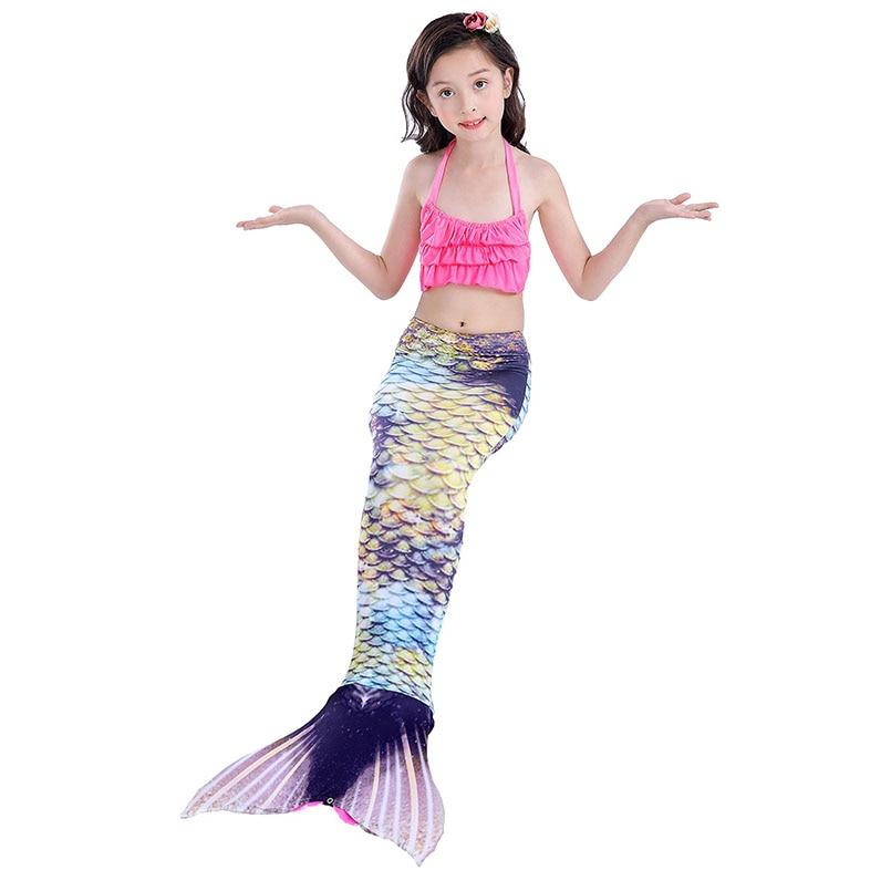 girls mermaidl tail vintage 7-1
