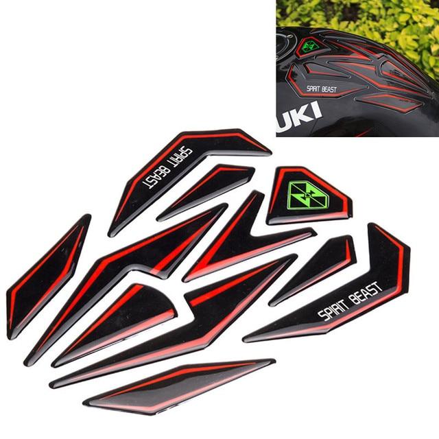 acheter r fl chissant 3d moto autocollant moto gaz r servoir de carburant. Black Bedroom Furniture Sets. Home Design Ideas