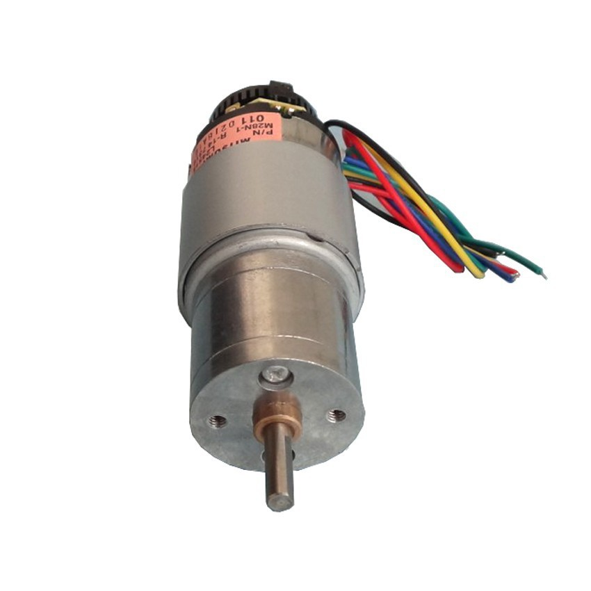 цена на DC 3V 6V 12V motor encoder photoelectric encoder DC 12V 120RPM motor free shipping geared dc motor encoder