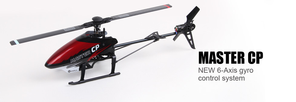 Walkera Master CP 6CH 3D Flybarless RC Helicopter BNF Version without Transmitter купить
