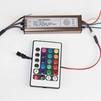 30 W RGB Led Light Driver IP66 Licht Transformator Externe Constante Stroom Aluminium case + Afstandsbediening voor Led Srtip licht