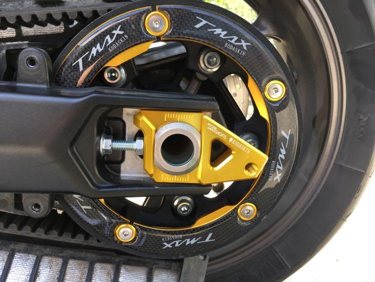 KODASKIN Moto Courroie De Transmission Poulie Couverture CNC Carbone Pour Yamaha tmax 530 2012-2016 t-max 530