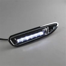 1 комплект для Mazda 6 Mazda6 2008 2009 2010 для вождения DRL дневные ходовые огни реле противотуманных фар светодио дный дневной Тюнинг автомобилей