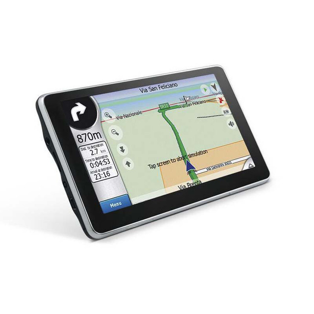 Hot sales High quality 4.3'' car GPS auto GPS navigator 800Mhz CPU, DDR 128 MB, built-in 4GB, free maps free shipping