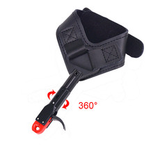1pc 360 degree Archery Release Compound Bow Wrist Grip Hunting Caliper Aid Fit Right And Left Hand