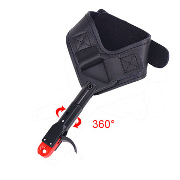 1pc 360 degree Archery Release Compound Bow Release Wrist Grip Hunting Caliper Release Aid Hunting Fit Right And Left Hand фото