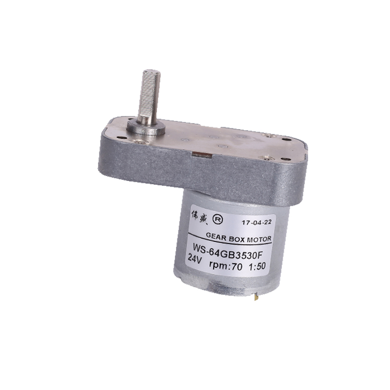 7-shaped 520 DC gear motor /64GB3530F 12V24V display frame with brush low speed motor / CW / CCW speed motor