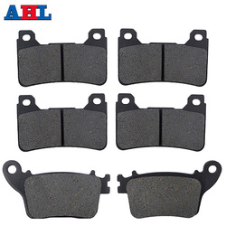 Motorcycle Parts Front Rear Brake Pads For HONDA CBR600RR CBR600RRA 07-16 CBR600RA CBR1000RA ABS 09-16 CBR1000RR Fireblade 06-16