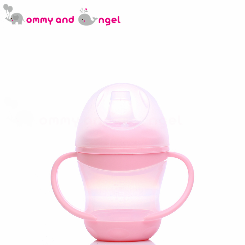 MOMMY AND ANGEL Boy&Girl Closer to Nature Fiesta Bottle Silicone Spout Active Cup Kids Feeding Bottle (2 Colour,160ml,ABE/1822)