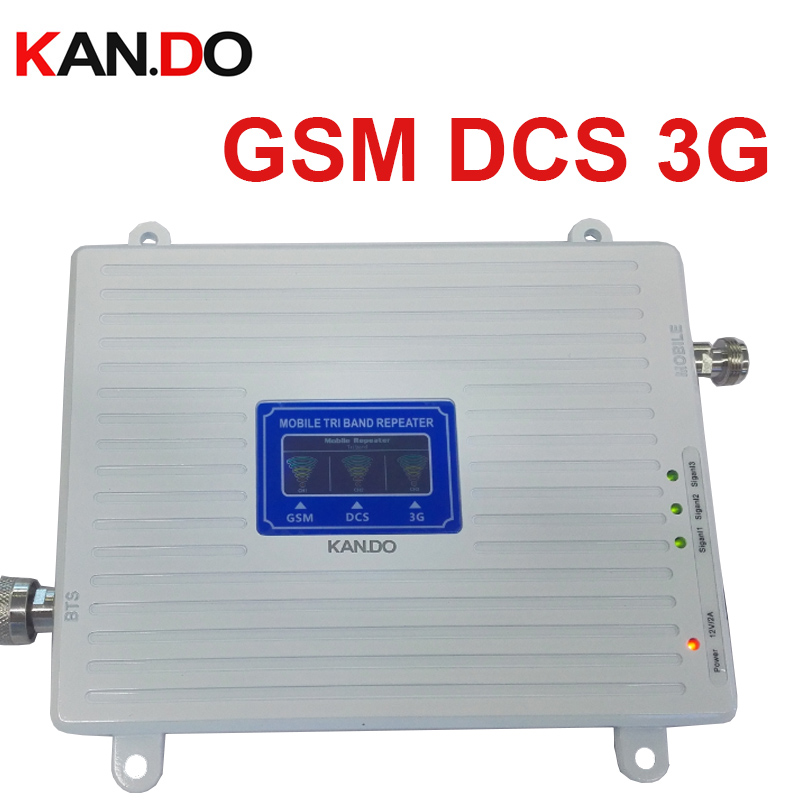 22 dbm 65dbi triband GSM 900 1800MHZ 2100MHZ booster repeater 4g DCS repeater 3G booster gsm repeater GSM BOOSTER 4G band 3 lte-in Signal Boosters from Cellphones & Telecommunications    1