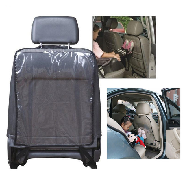 Online Shop New Black/Blue Kids Car Auto Seat Back Protector Cover ...
