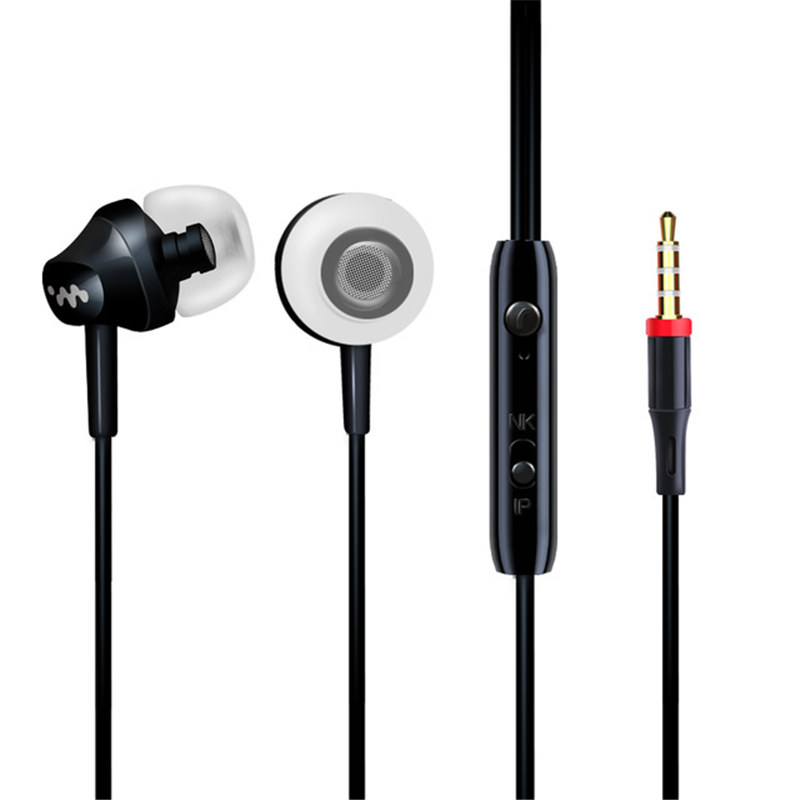 цена на Heavy Bass In Ear Earphone Music Headset with Mic Quality Earbud fone de ouvido for iPhone Samsung Sony HTC Mp3 PC