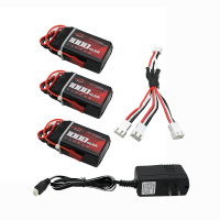 3s Lipo Battery 3pcs 11 1V 1000mah 30C UL Charger For Quadcopters Helicopters RC Cars Boats