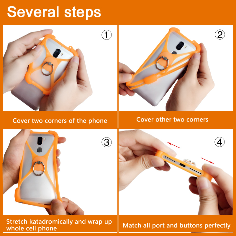 Senseit A109 A200 case A 109 200 Rotate Ring Phone cover for Senseit E400 E500 E510 case E 400 500 510 Senseit R450 case R 450
