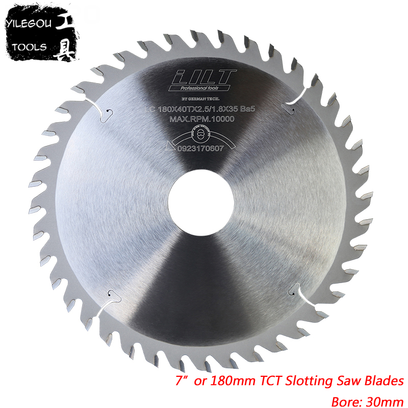 180mmx30m TCT Slotted Saw Blades 7
