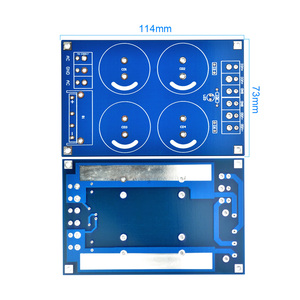 Image 5 - Aiyima Versterker Gelijkrichter Filter Board 4x10000 UF Grote condensator Volledige Brug Filter Subwoofer DC Versterkers DIY KITS
