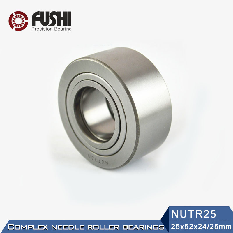 NUTR25 Roller Followers Bearings 25*52*25*24mm ( 1 PC ) Yoke Type Track Rollers NUTR 25 Bearing NUTD25 natr40 roller followers bearings 40 80 32 30mm 1 pc yoke type track rollers natr 40 bearing natd40