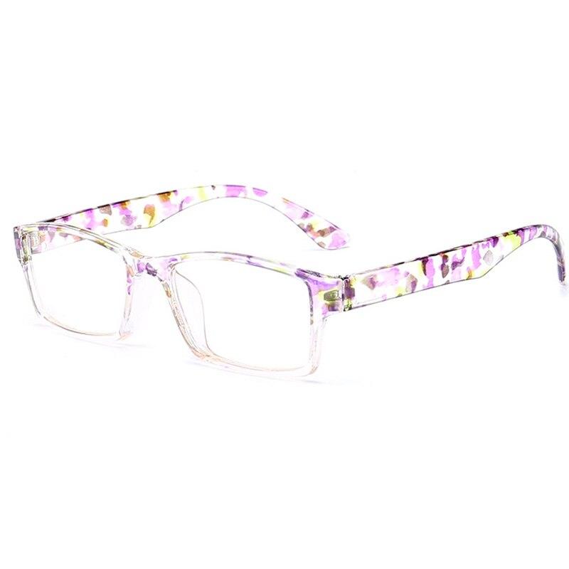 Verano gafas de lectura marco de la flor maquillaje gafas de ...