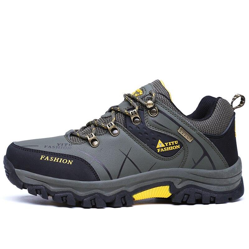 Weweya Big Size 39-47 Winter Shoes Male Male Male Plush Warm Stivali Uomo Shoes Casual Anti-S 7eb00f
