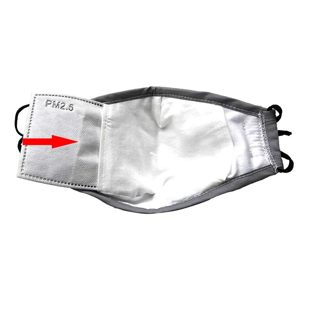 * Pamuk PM2.5 Siyah ağız Maskesi anti toz maskesi Aktif karbon - Sağlık Hizmeti - Fotoğraf 2