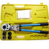 Hydraulic Pipe Crimping Tools Manual Pex Pipe Crimping Tool Kit CW 1632 Copper Pipe Pressure Clamp Tool 360 Degrees Head