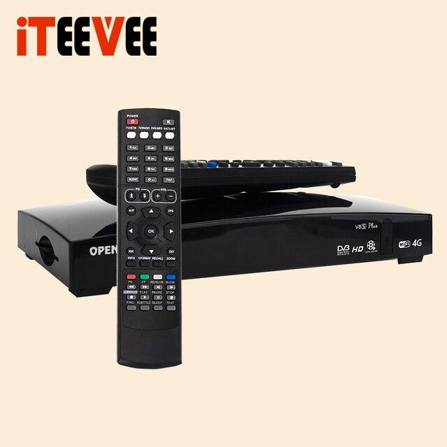 5PCS iTEEVEE O-V8S plus O V8SE Digital Satellite Receiver AV USB Wifi WEB TV Biss Key 2xUSB Youporn CCCAMD as S-V8 sv8 DVB-S2 S2