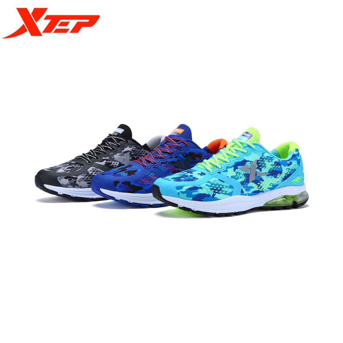 XTEP Special Step Male Shoe 2017 All Season New Product Air Lovers Net Noodles Ventilation Shock Absorption Man Track Sneakers пена монтажная mastertex all season 750 pro всесезонная