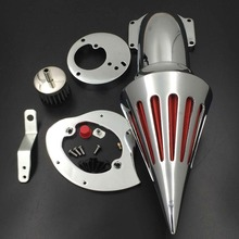 Aftermarket free shipping motorcycle parts Spike Air Cleaner intake filter for Honda  VTX1300 VTX 1300 1986-2012 CHROMED